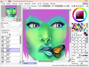 Paint Tool Sai Crack + Keygen Free Download
