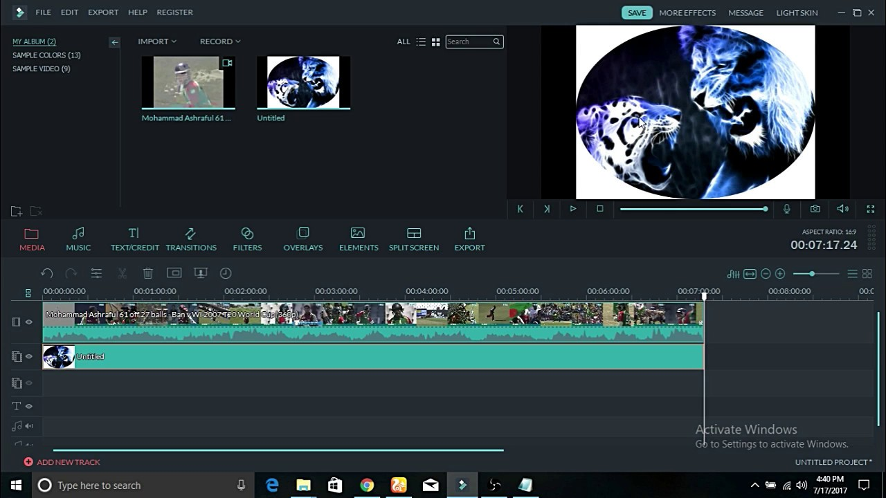 Wondershare Filmora 9.4.5.10 Crack With Activation Key 2020