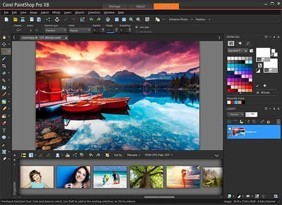 Corel PaintShop Pro X8 Crack Full Version