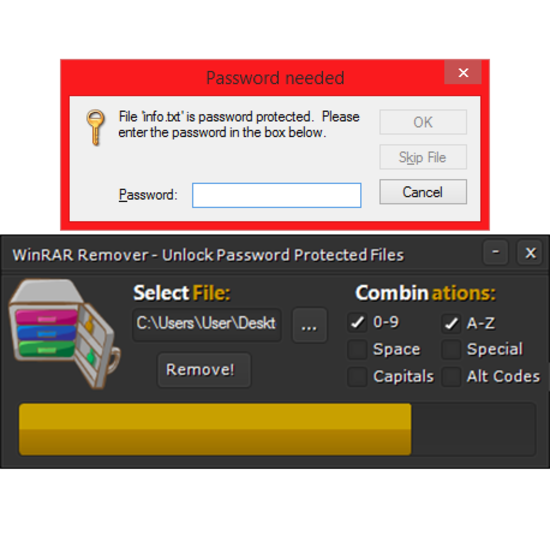 WinRAR Password Remover Tool Crack 2018 Free Download