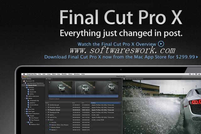 Final Cut Pro 10.4.4 Full Crack + Torrent [FREE]