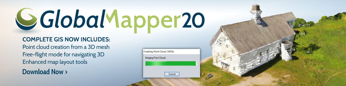 Global Mapper 20.0.1 Crack With Keygen Free Download [Win + MAC]